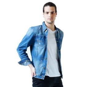 Customs Ba Campera Hombre De Jean Camperas Jeans Importada