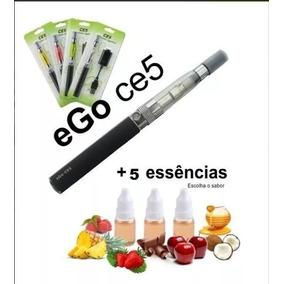 ***01 Cigrro Caneta Eletrôn Usb Recarregável + 05 E-liquid**