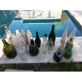 Botellas Y Botellones Antiguos En Adrogue