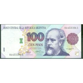 Billete Argentina 100 Pesos B#3072a Murolo-fernandez S/c