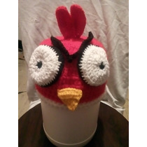 Gorro Crochet Angry Birds