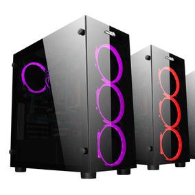 Gabinete Sentey K20 Rgb Cooler Extreme Gamer Vidrio Templado