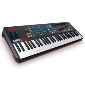 Teclado Musical Controlador Akai Pro Mpk261 + Ableton E + !