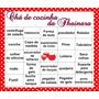 Bingo Chá De Cozinha Para Download