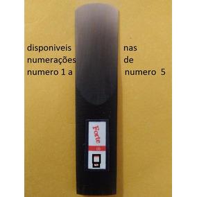 Palheta Sax Contra Baixo Fibra De Carbono 60,00 N 1 A 4 1/2