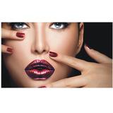 Adesivo De Parede Manicure Unhas Maquiagem Salão Beleza J216