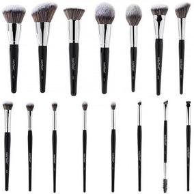 Kit Pincel Linha Max Maquiagem 15 Pincéis Macrilan Completo