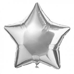 100 Globo Metálico Estrella 18 45 Cm Decoración Envió Gratis