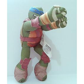 Coleção Mc Donalds - Tartarugas Ninja Leonardo Em Tecido