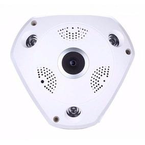 Camera Panoramica Seguranca 3d Wi-fi 360 Vr Cam 2mp