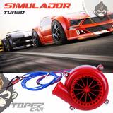 Simulador Turbo Blow Off Rojo Electrico Oferta !!