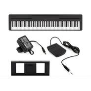 Piano Digital Yamaha P45 88 Teclas Com Fonte Pedal P-45