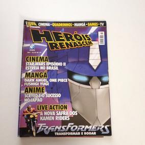 Revista Ultra Jovem Heróis Renascem Transformers N°02