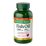Natures Bounty Fish Oil Omega 3 Importa 1200 Mg 180 Cápsulas