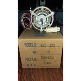 Motor Ventilador Doble Eje 1/6 Hp 1125 Rpm 220v Motorvenca