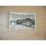 Estacion Y Tren-capilla Del Monte.- Foto Sosa-año 1948