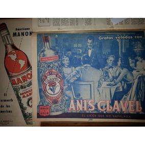 Botella Martini Gancia Anis Clavel Manon Publicidades