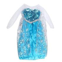 Últimos Vestido Disfraz Elsa Frozen Nena Envio Todo El País