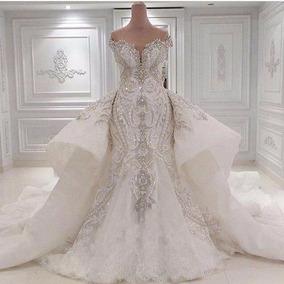 Vestido De Noiva Luxo Sereia