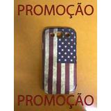 Case Para Samsung Galaxy S3 Bandeira Estados Unidos