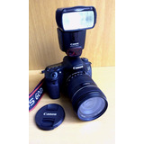 Canon 60d + 18-135mm + Flash 430 Ex Ii + Extras