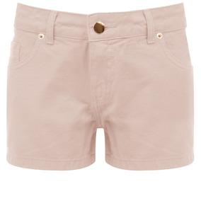 Shorts Ambicione Sarja Color - Cru