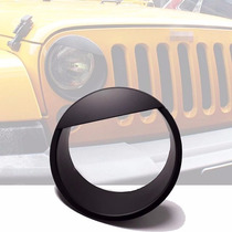Par De Biseles Bisel De Faro Para Jeep Wrangler Jk 2007-2017