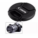 Tapa Frontal Canon 58mm Modelo Snap-on Nuevo