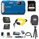Cámara Digital Panasonic Lumix Dmc-ts30 (premium, Azul)
