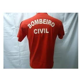 Camisa Bc Bombeiro Civil Profissional Malha Premium