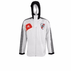 Campera Travel River Plate Blanco 2013 M Impecable