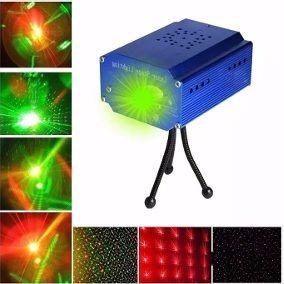 Laser Lluvia Multipunto Led Audioritmico Colores Fiesta Dj