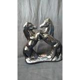 Estatua Escultura Cavalo Beto Carreiro De Porcelana.