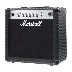 Caixa De Som Amplificada Marshall Mg15cf Cubo Para Guitarra