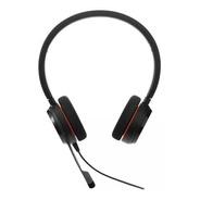 Headset Jabra Evolve 20 Ms Stereo Black 4999-823-109