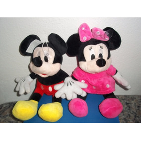 Lote Peluche Mickey Y Minnie Mouse Disney Envio Gratis Dhl