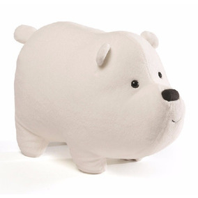 Ursos Sem Curso Pelúcia Polar 28cms Ice Bear Cartoon Network