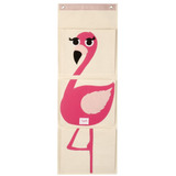 Organizador De Pared 3 Sprouts Flamingo Rosa