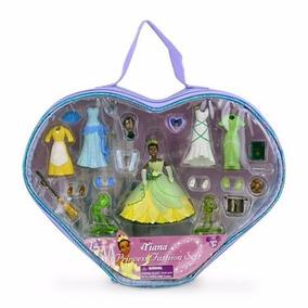 Fashion Deluxe Set Tiana Disney - Tipo Polly