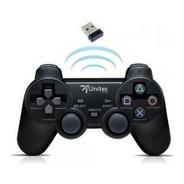 Control Juegos Pc Usb Inalambrico Dualshock Con Vibración