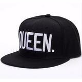 Bonés Aba Reta Preto Hip Hop Barato Original Queen King