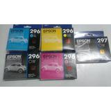 Tinta Epson T296 Black Cyan Yellow Magenta 5ml Xp231 - 241