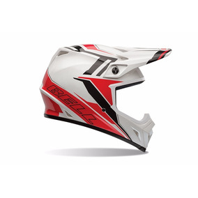 Capacete Off Road Bell Mx-9 - Barricade Red