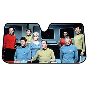 Plasticolor 003692r01 Star Trek Bridge Acordeón Burbuja Som