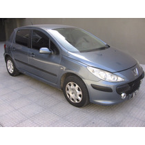 Peugeot 307 Xs 2.0 Hdi 5p 90 Cv Año 2008 Primera Mano !!!