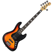 Contra Baixo Elétrico 5 Cordas Jazz Bass Auburn