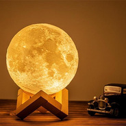 Luminária De Mesa Lua Led Usb Touch Bivolt Avant