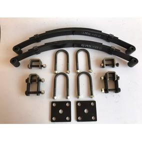 Feixe De Molas 3l - Kit De Fixação E Jumelos Para Carretinha