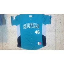 Jersey Liga Mexicana Béisbol Saraperos Saltillo Mlb Jordan