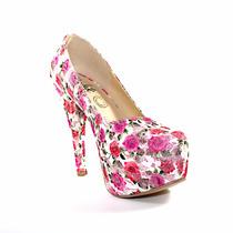 Zapatilla Pump Nairi Rosas Zapatos Mujer